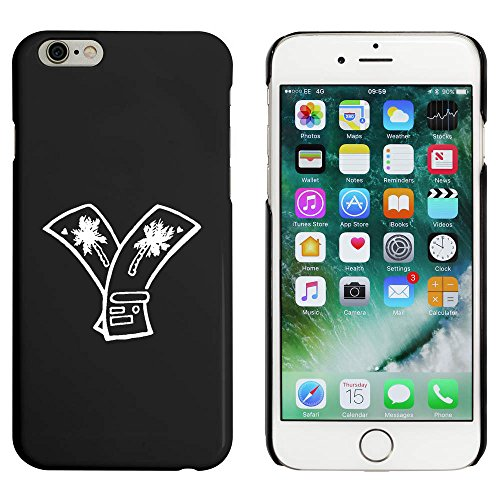 Schwarz 'Urlaubstickets' Hülle für iPhone 6 u. 6s (MC00017965)