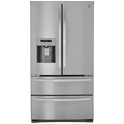 Nice Amazon.com: Kenmore 72495 26.7 Cu. Ft. 4 Door French Door Refrigerator With  Dual Freezer Drawers, Active Finish: Appliances