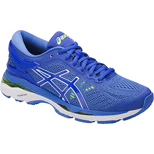 ASICS Women's Gel-Kayano 24 Running Shoes, 8M, Blue Purple/Regatta Blue/White