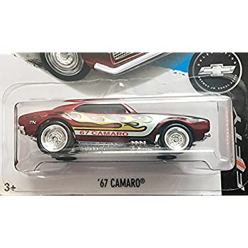 Hot Wheels 2017 Super Treasure Hunt 50th Anniversary 67 Camaro