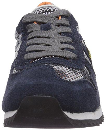 Blauer USA RUTH 1A - zapatilla deportiva de cuero mujer azul - Blau (888)