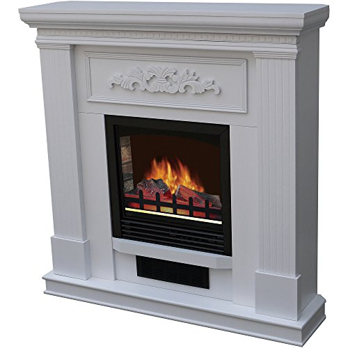 Decor-Flame Electric Space Heater Fireplace with 38