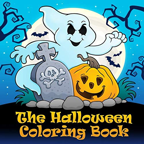 The Halloween Coloring Book: Funny Halloween coloring pictures for children from 4 years and adults