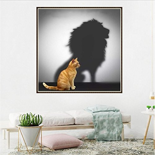Pandaie To America!!! Cat Lion 5D Diamond Painting Full Drill Kits for Adults Embroidery Cross Stitch(all 5% off, three 10% off)
