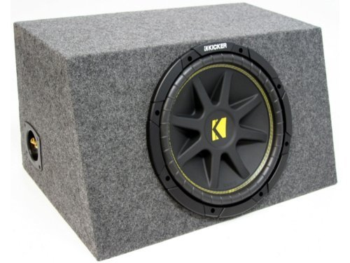 ASC Package Single 15″ Kicker Sub Box Sealed Hatch Subwoofer Enclosure C15 Comp 500 Watts Peak