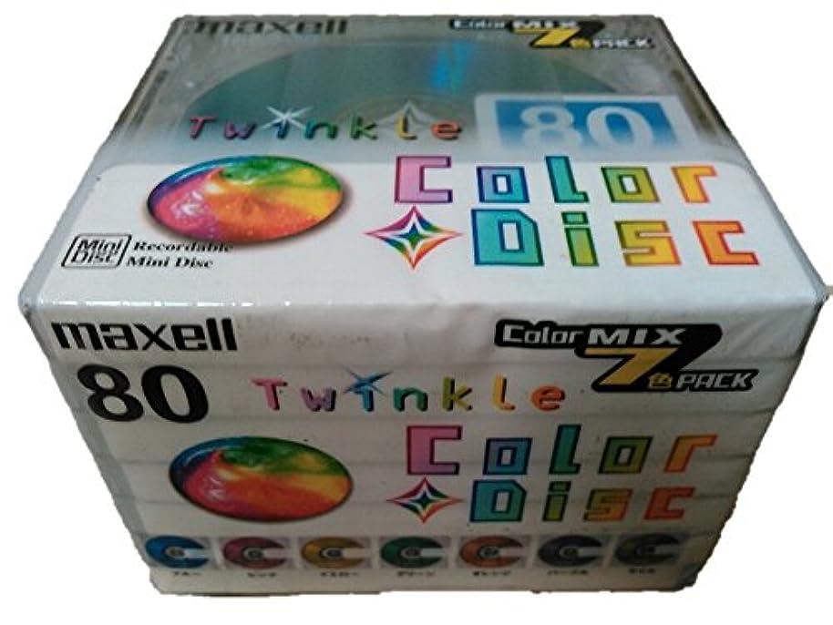 ダイヤル用語集意図するmaxell MD80分ミックス10枚 [TMD80MIXJ10P]