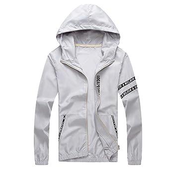 Kaiki Windbreaker Herren Mantel Freizeitjacke Outdoor Sportswear Leichte Bomber Jacke