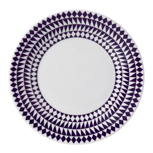 - Jasper Conran China Mosaic Accent Plate(s) Blue