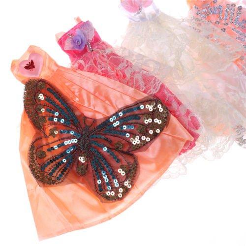 Regalo Dal Bambola Handmade Vestito Nuziale Abito Minishop Partito tm Barbie Abito Principessa Del pIH8qgfw