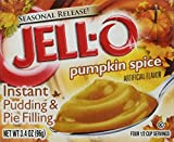 jello instant pudding mix - Kraft Jell-O Instant Pudding & Pie Filling, Pumpkin, 3.4-Ounce Boxes (Pack of 3)