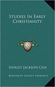 Book Studies in Early Christianity