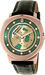 Men's Bulova Accutron II Alpha Rose Gold-Tone Skeleton Dial Watch, 97A122