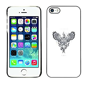 LECELL--Funda protectora / Cubierta / Piel For iPhone 5 / 5S -- Dreamcatcher Animales --