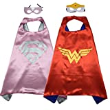 Superhero Costume Super Hero Cape And Mask Dress Up 2 Set For Kids