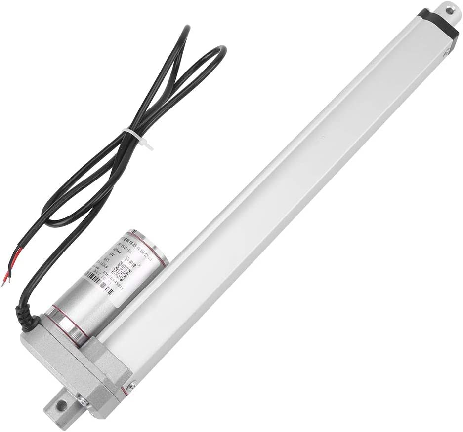 Linear Actuator DC 12V 140KG Max Lift Stroke Electric Motor for Medical Auto Car 300mm Edition : 250mm//9.84inch