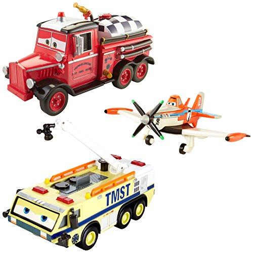 Disney Planes: Fire & Rescue Ryker, Dusty and Mayday Gift Pack ()