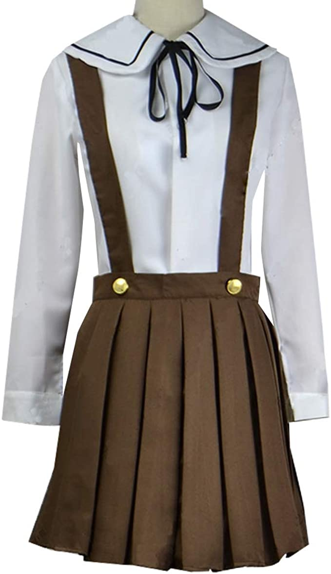 Amazon.com: Adult Women Chihiro Fujisaki Cosplay Costume Full Set Halloween: Clothing