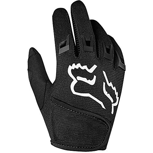 Youth Gloves Dirtpaw (Fox Racing 2019 Kid's Dirtpaw Gloves - Race (Small) (Black))