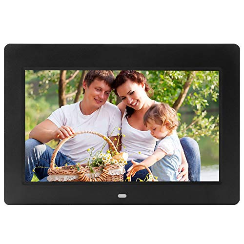 - 10-Inch Advanced Digital Picture Photo Frame High Resolution, MP3/Photo/Video Player/Clock Function/Calendar with Remote Control,Black