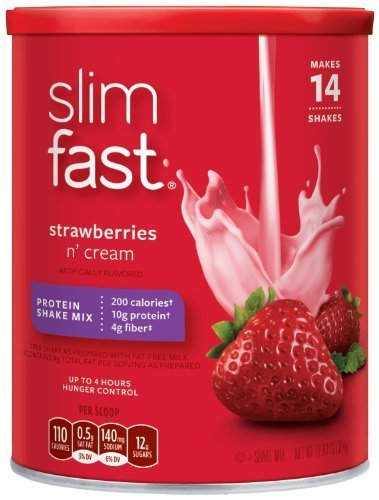 slimfast-strawberries-n-cream-protein-shake-mix-1283-ounce-pack-of-3-by-slim-fast