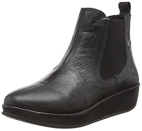 Bran901fly Women's Chelsea London Boots Black 000 Black Fly qT4xwE5