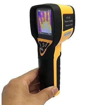 Cámara termográfica infrarroja de mano HT-175 Pantalla térmica en color Cámara termográfica Cámara de imágenes Cámara infrarroja Termómetro infrarrojo ...