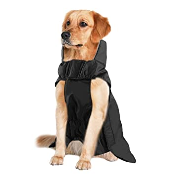 Bokning Ropa de Abrigo para Perros Chaqueta Impermeable de Invierno con Rayas Reflectantes Conjunto de Seguridad