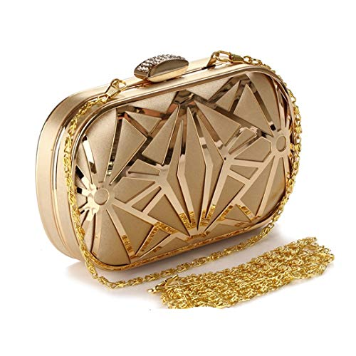 color En Black Bandoulière Gold Or À Sac Weatly Noir Diamants Main Embrayage qw1vztSx