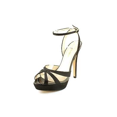 Caparros Gazelle Women's Heels Pumps Style S9714 Black Satin Size 9.0