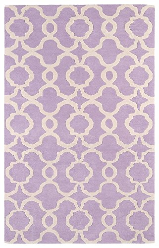 Kaleen Rugs Revolution Collection REV03-90 Lilac Hand Tufted 3