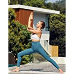 CRZ-YOGA-Donna-Vita-Alta-Yoga-Fitness-Spandex-Palestra-Pantaloni-Sportivi-78-Leggins-con-Tasche-63cm