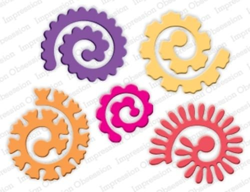 Spiral Flower Die