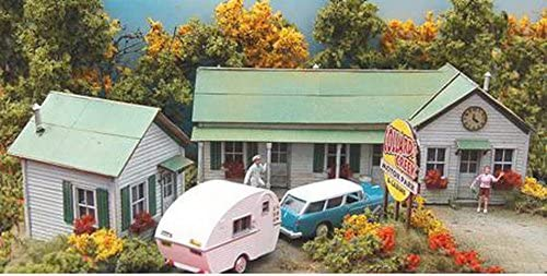 B000FPLZT0 Bar Mills HO Scale Kit Laser-Cut Collard's Creek Motor Park 51Rx5fc1ZaL