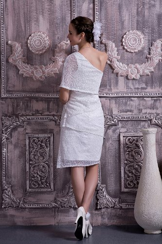leger BRIDE Hochzeitskleider kurze Brautkleider Abendkleid neue GEORGE Hochzeitskleid Weiß moderne t4CwWdq
