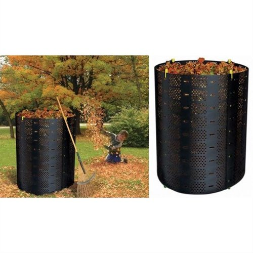 Svitlife 216-Gallon Compost Bin Composter for Home Composting Canvas Garden Rubbish Reusable Leaves Weed Organize