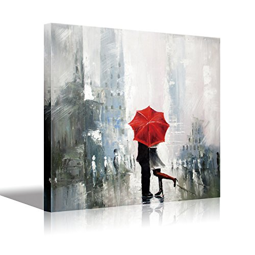 Romantic Oil Paintings - Stretched Canvas Art
