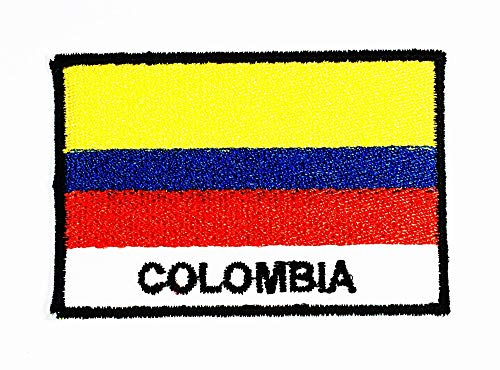 1.75 X 2.6 Inch Colombia Flags of