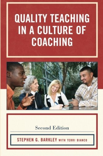 Quality Teaching in a Culture of Coaching by Stephen G. Barkley (2010-08-16)