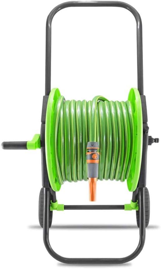 Manguera de jardin Manguera De Limpieza Plegable For Carro 1/2 ′ ′ con Rejilla De ABS (Size : 50M): Amazon.es: Hogar