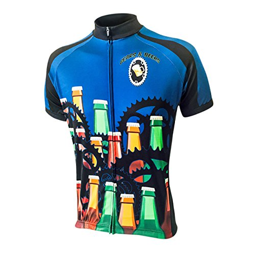 Beer Drinker Men's Bike Jersey, (Beer Jersey)