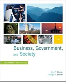 Business government and society a managerial perspective text business government and society a managerial perspective text and cases 12th edition fandeluxe Image collections