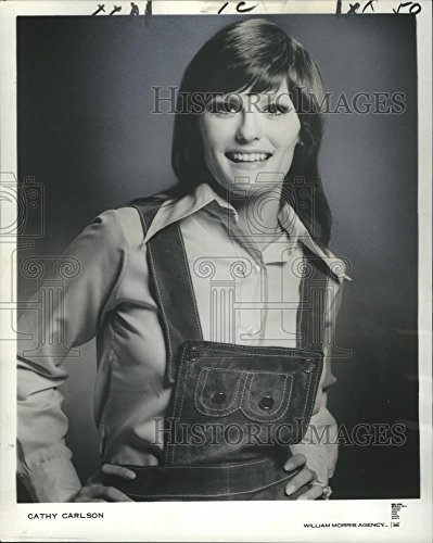 Vintage Photos 1973 Press Photo Vocalist Cathy Carlson - noo03022