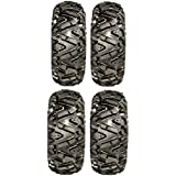 Full set of GBC Dirt Tamer (6ply) 27x9-12 and 27x12-12 ATV Tires (4)