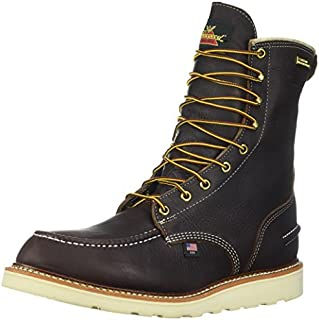 """product image for Thorogood Men's 8"""" Moc Toe, MAXwear Wedge Waterproof Non-Safety Toe"""