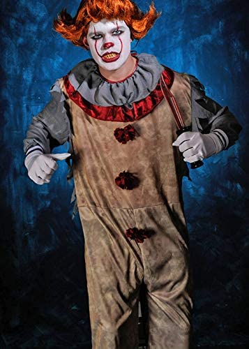 Magic Box Mens It Clown Pennywise Disfraz de Payaso Estilo Large ...