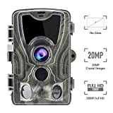 Best Cheap Trail Cameras - Climbose Hunting Trail Camera, 20MP 1080P No Glow Review