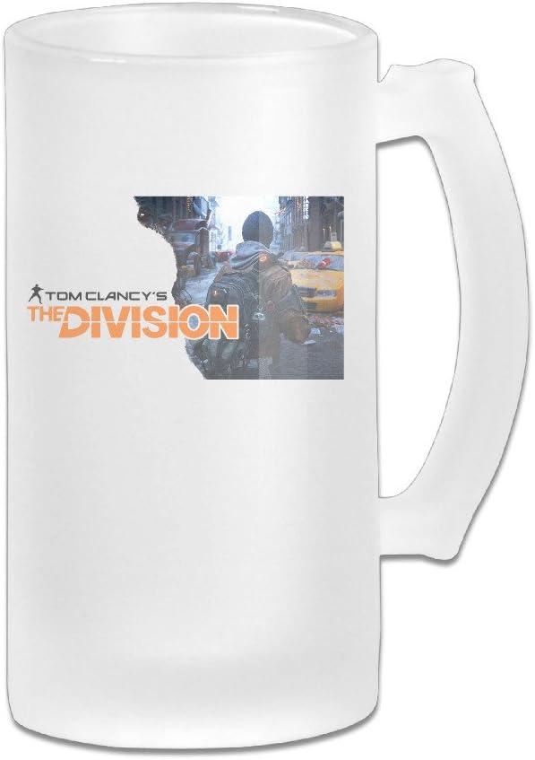 Handson en acier inoxydable Isolation sous vide fête Bière Mug The Division 2thermique Thermos Tasse Blanc