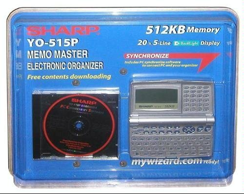 Sharp YO-515P Memo Master Electronic Organizer 515 by SHARP by Sharp
