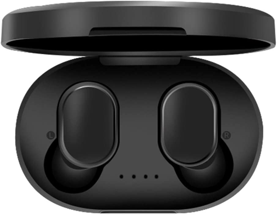 HongGFUTONG Bluetooth 5.0 kabellose Ohrh/örer mit kabelloser Aufladeh/ülle Ger/äuschunterdr/ückung Kopfh/örer In-Ear integriertes Mikrofon Headset Hi-Fi f/ür Sport T Mini Stereo Bass IPX5 wasserdicht