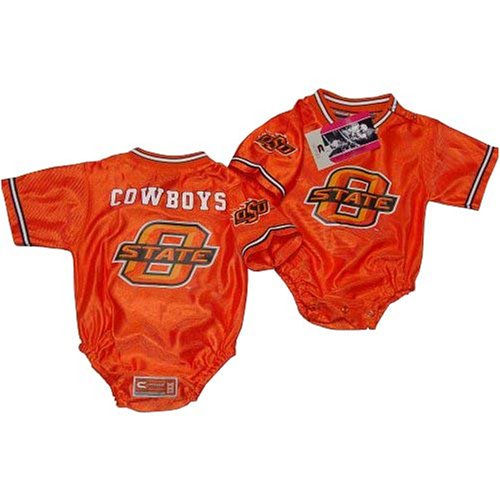 7230752daed Amazon.com: Oklahoma State University Cowboys NCAA Football Infant/baby  Onesie Jersey 18-24 months LOGO: Sports & Outdoors
